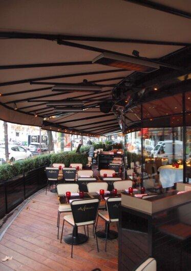 Spot - Restaurant - Infrared Radiant Heater Ideas