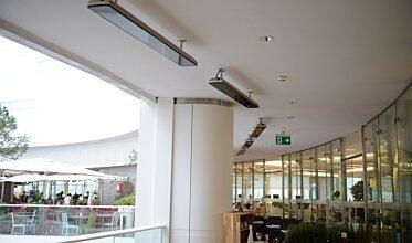 Vision Akasya Foodcourt - Infrared Radiant Heaters