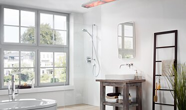 Vision Bathroom - Infrared Radiant Heaters