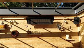 Weathershield 3 Black Accessorie - In-Situ Image by Heatscope