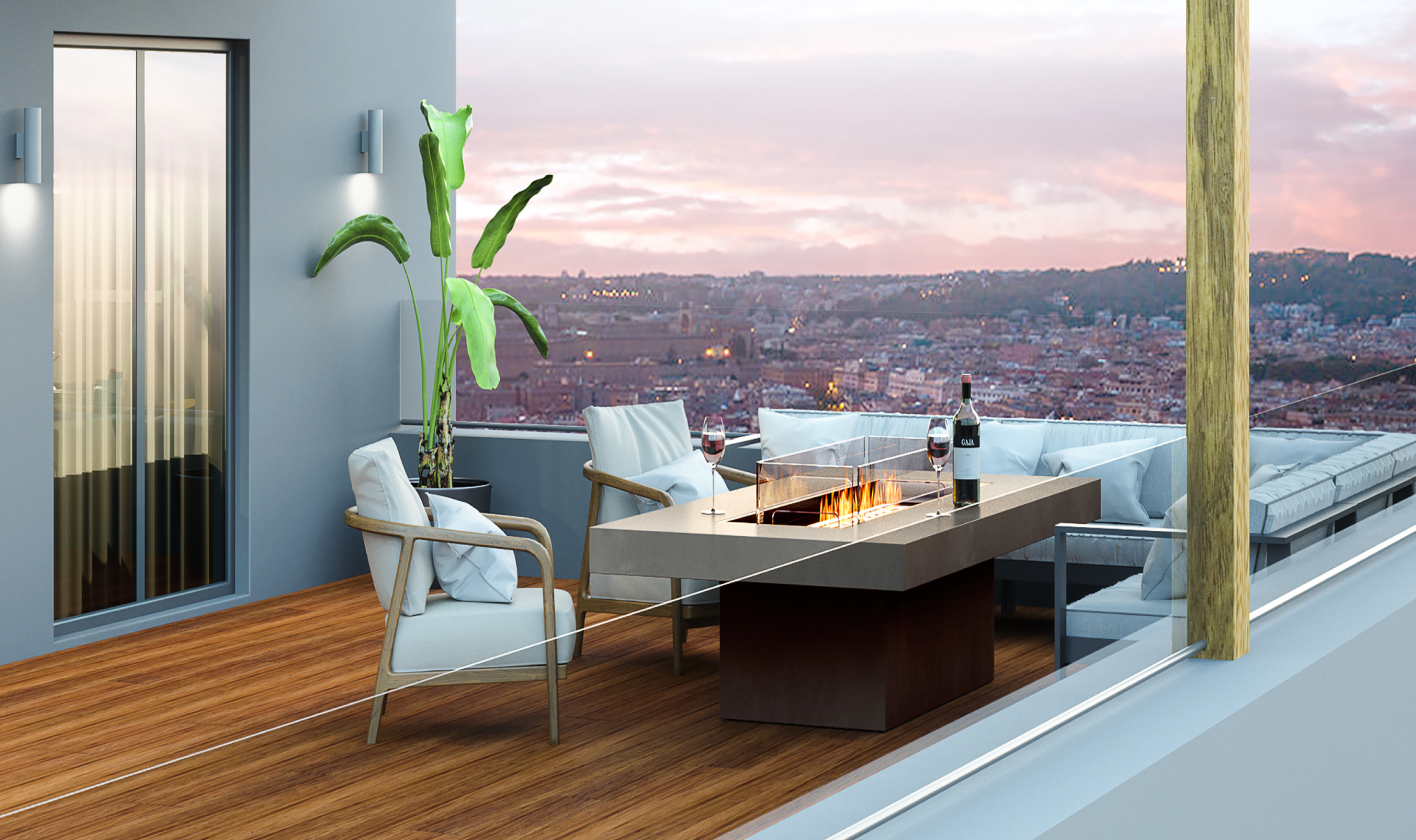 Luxury Fire Pit Tables
